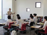 増田孝先生のしごと講話。