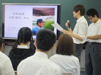 学習発表会の様子。