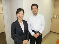 最後に金沢キャンパスのキャンパス長と記念写真。