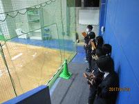 選手のピッチング練習場。