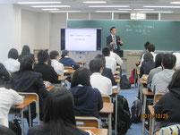 10月26日。当日の様子。加藤稔さんの講話。