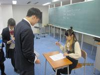 畑田さんのサイン会。