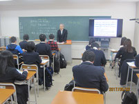 山森修さんの講話。