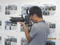 中日新聞のカメラマンが撮影。