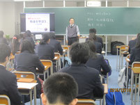 和田義雄さんのしごと講話。