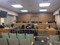 模擬裁判の様子1