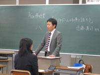昨年、ナゴヤドーム事業推進課 課長 近藤真司さんに講話をしていただく。