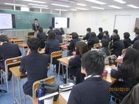 大谷智洋さんの講話。