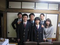 昨年に河村たかし事務所を生徒たちと訪問。