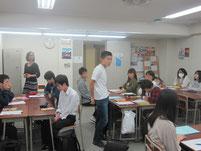 授業が終わり、生徒からの質問タイム。