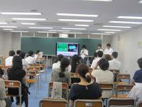 職場見学の学習発表としてプレゼンテーションを実施。