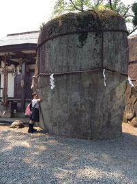 岩手の起源「鬼の手形」のある三ツ石神社