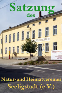 Bild: Teichler Seeligstadt Sachsen Satzung Heimatverein