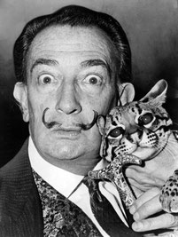 Salvador Dali (Quelle: United States Library of Congress's Prints and Photographs division under the digital ID cph.3c14985)