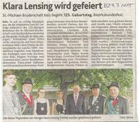 Dürener Zeitung 09.07.2015