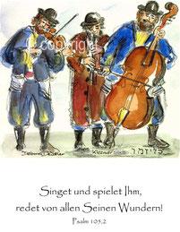 musizierende Klezmer