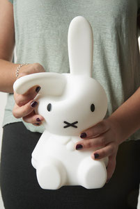 LAMPE LAPIN MIFFY RECHARGEABLE- DECO CHAMBRE BEBE ENFANT- MY FIRST LIGHT MIFFY- BABY AND KIDS BEDROOM