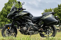 Demnächst: Kawasaki Versys 650
