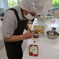 ぽりりずむ 就労訓練 お弁当作り1