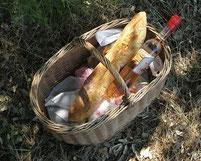 panier pique nique produits du terroir poitevin