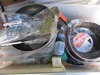 寄付|調理器具|鍋|フライパン|