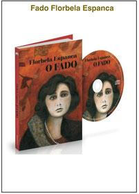 Florbela Espanca- FADO Livro e CD - 18 fados - Gravações inéditas