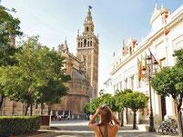 Sevilla Panorama.postkarte.n.aussicht