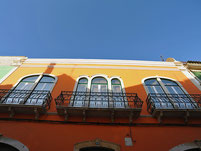 Faro / Häuserfront
