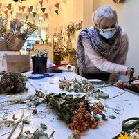 Atelier d'art floral pour tous