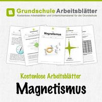 Kostenlose Arbeitsblätter zum Thema Magnetismus auf Grundschule Arbeitsblätter