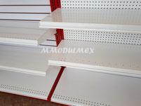 Repisas y entrepaños metálicos y de madera