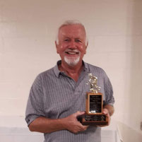 Bob Bell Trophy for most points by a non-skip - Dave Rigley