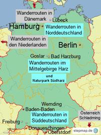 Bild: Wanderungen in Deutschland