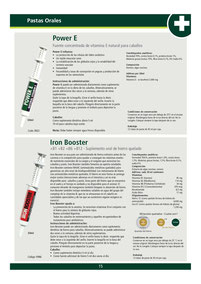 POWER E - IRON BOOSTER