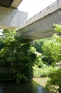 Aluminiumbrücke der Route 32 über den Patapsco River bei Sykesville, Maryland