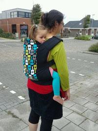 Ергономична раница за носене на дете