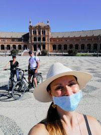 Visite en vélo en temps de Covid