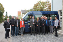 Freiwilligen-Zentrum Neusäß - Neues Fahrzeug 2014