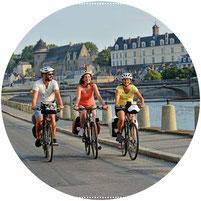 Sur l'itinéraire de la Vélo Francette - Laval
