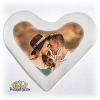 Cojines personalizados forma de corazón Akila
