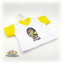 Mini camisetas coche personalizados