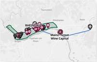 Interactive Map of the Rheingau Wine Region