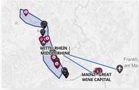 Mittelrhein Wines Map