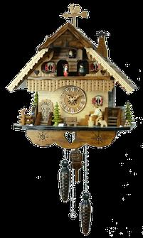 森の時計 484QMT ハト時計