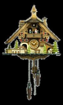 森の時計 48110QMT ハト時計