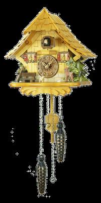 森の時計 492-7QM ハト時計