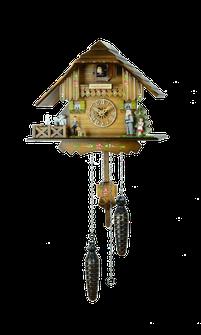 森の時計 4233QM ハト時計