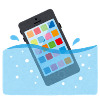 水没復旧 iphone 修理 広島市中区紙屋町