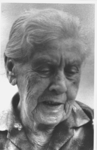 Dina Meyerhof, geb. Löbenberg