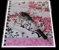Kleines Notizbuch um dysfunktionale (negative) Gedanken sofort zu erfassen.